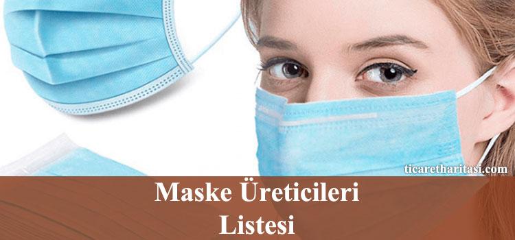 maske üreticileri listesi